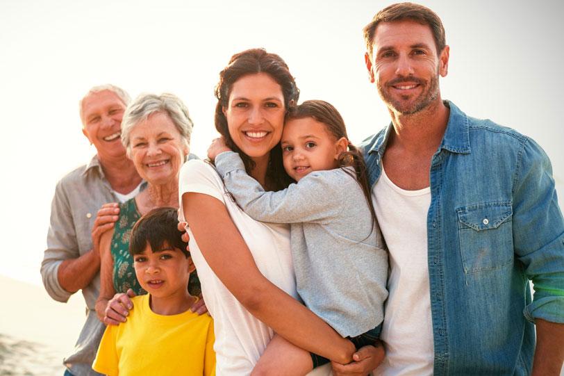Three generations of family - LPA