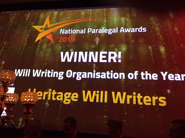 Working with us - Will Writer of the Year Award