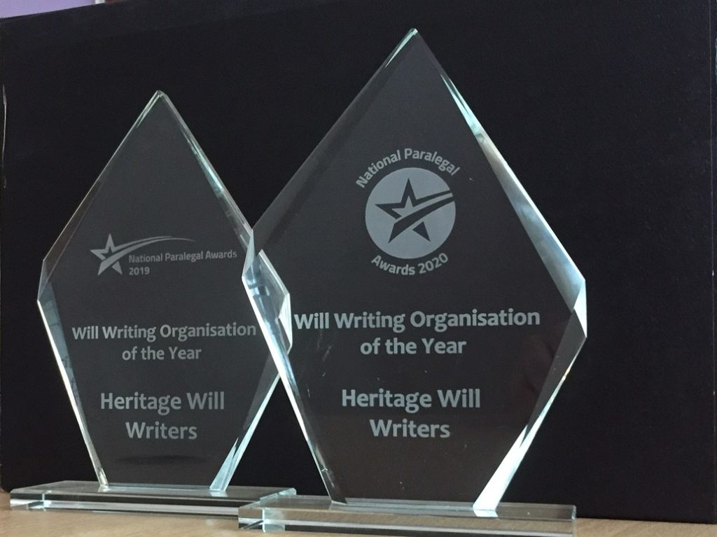 Awards success for Heritage Wills